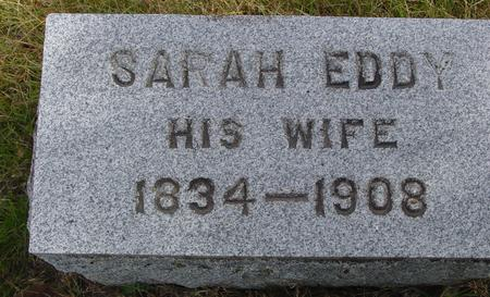 EDDY, SARAH - Cherokee County, Iowa | SARAH EDDY