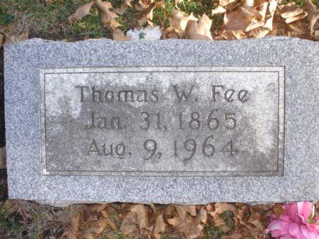 FEE, THOMAS W. - Cherokee County, Iowa   THOMAS W. FEE