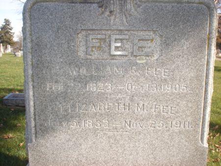 FEE, WILLIAM G. - Cherokee County, Iowa | WILLIAM G. FEE