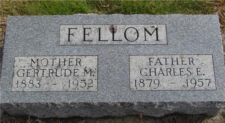 FELLOM, CHARLES & GERTRUDE - Cherokee County, Iowa | CHARLES & GERTRUDE FELLOM