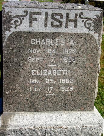 FISH, CHARLES & ELIZABETH - Cherokee County, Iowa | CHARLES & ELIZABETH FISH