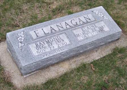 FLANAGAN, ELAINE - Cherokee County, Iowa   ELAINE FLANAGAN