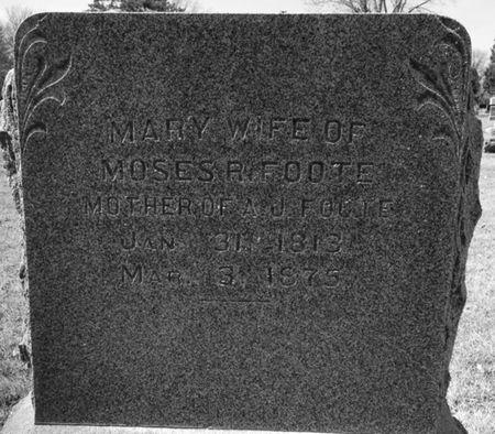 FOOTE, MARY - Cherokee County, Iowa | MARY FOOTE