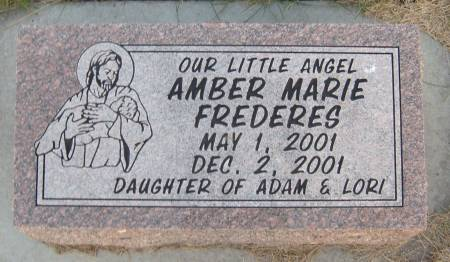 FREDERES, AMBER MARIE - Cherokee County, Iowa | AMBER MARIE FREDERES