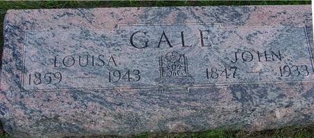 GALE, JOHN & LOUISA - Cherokee County, Iowa | JOHN & LOUISA GALE