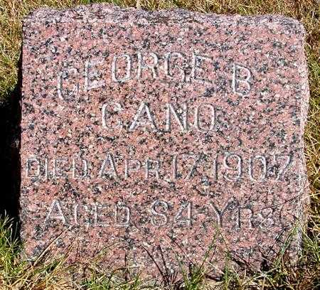 GANO, GEORGE B. - Cherokee County, Iowa | GEORGE B. GANO