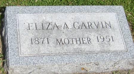 GARVIN, ELIZA A. - Cherokee County, Iowa   ELIZA A. GARVIN