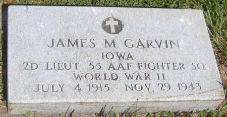 GARVIN, JAMES M. - Cherokee County, Iowa   JAMES M. GARVIN