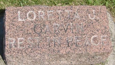 GARVIN, LORETTA J. - Cherokee County, Iowa | LORETTA J. GARVIN