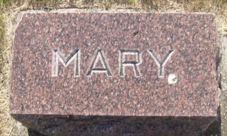 GARVIN, MARY - Cherokee County, Iowa   MARY GARVIN