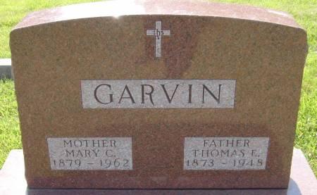 GARVIN, MARY CATHERINE - Cherokee County, Iowa | MARY CATHERINE GARVIN
