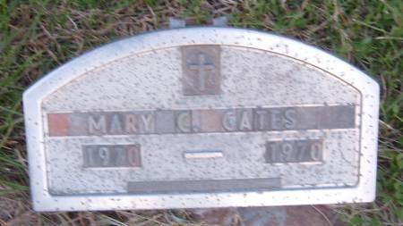 GATES, MARY C. - Cherokee County, Iowa | MARY C. GATES