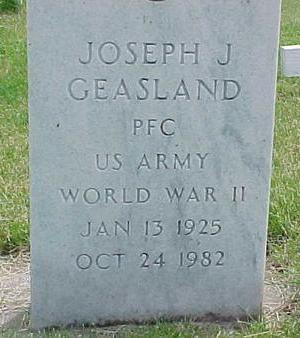 GEASLAND, JOSEPH J. - Cherokee County, Iowa | JOSEPH J. GEASLAND
