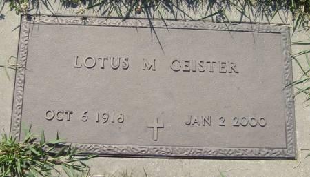 PIERCE GEISTER, LOTUS M. - Cherokee County, Iowa | LOTUS M. PIERCE GEISTER
