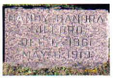 GIFFORD, NANCY HANORA - Cherokee County, Iowa | NANCY HANORA GIFFORD