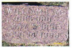 GIFFORD, WILLIAM L. M. - Cherokee County, Iowa   WILLIAM L. M. GIFFORD