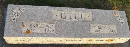 GILL, MAY C. - Cherokee County, Iowa   MAY C. GILL