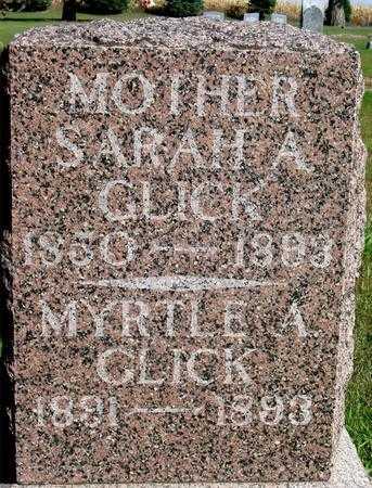 GLICK, SARAH A. - Cherokee County, Iowa | SARAH A. GLICK