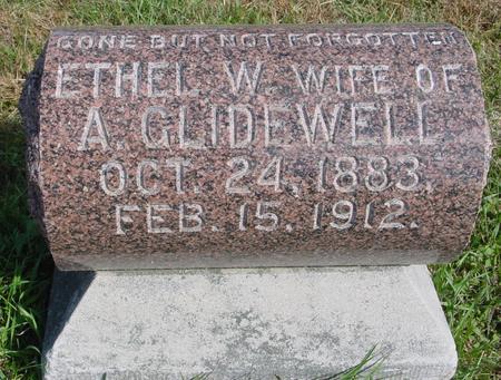 GLIDEWELL, ETHEL W. - Cherokee County, Iowa | ETHEL W. GLIDEWELL
