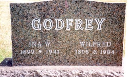 GODFREY, WILFRED & INA W. - Cherokee County, Iowa | WILFRED & INA W. GODFREY