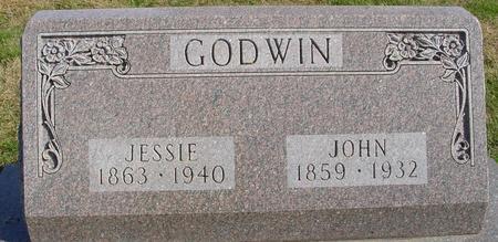 GODWIN, JOHN & JESSIE - Cherokee County, Iowa   JOHN & JESSIE GODWIN
