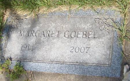 GOEBEL, MARGARET EDITH - Cherokee County, Iowa | MARGARET EDITH GOEBEL