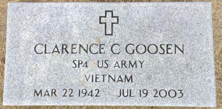 GOOSEN, CLARENCE C. - Cherokee County, Iowa | CLARENCE C. GOOSEN