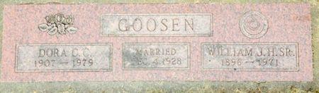 GOOSEN, DORA C. C. - Cherokee County, Iowa   DORA C. C. GOOSEN