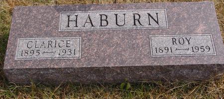 HABURN, ROY & CLARICE - Cherokee County, Iowa | ROY & CLARICE HABURN