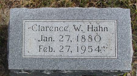HAHN, CLARENCE W. - Cherokee County, Iowa | CLARENCE W. HAHN