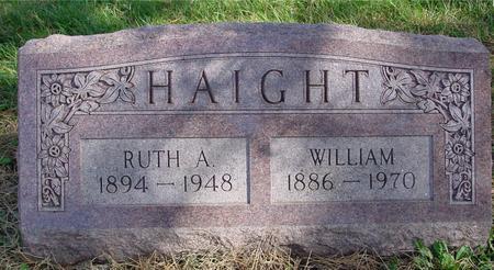 HAIGHT, WILLIAM & RUTH - Cherokee County, Iowa | WILLIAM & RUTH HAIGHT