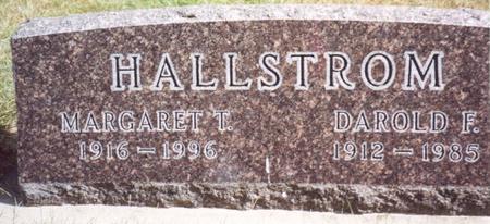 HALLSTROM, DAROLD & MARGARET - Cherokee County, Iowa | DAROLD & MARGARET HALLSTROM