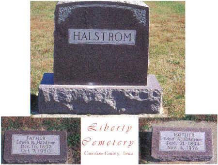 DANIELS HALSTROM, EDNA A. - Cherokee County, Iowa | EDNA A. DANIELS HALSTROM