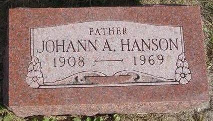 HANSON, JOHANN A. - Cherokee County, Iowa | JOHANN A. HANSON