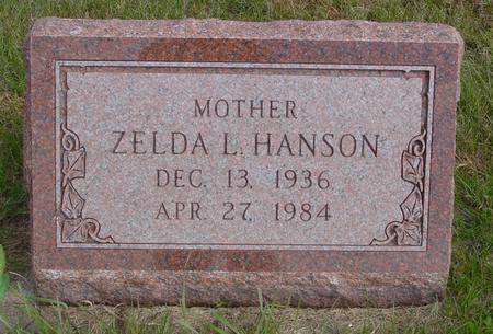 HANSON, ZELDA L. - Cherokee County, Iowa | ZELDA L. HANSON