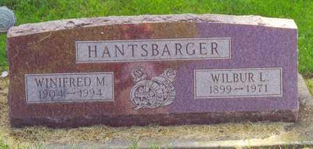 WARBURTON HANTSBARGER, WINIFRED - Cherokee County, Iowa   WINIFRED WARBURTON HANTSBARGER