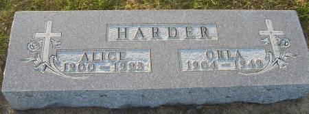 HARDER, ALICE - Cherokee County, Iowa | ALICE HARDER