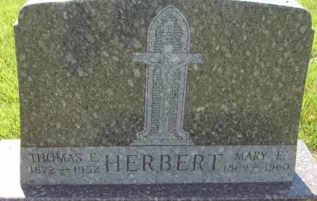 HERBERT, THOMAS E. - Cherokee County, Iowa | THOMAS E. HERBERT
