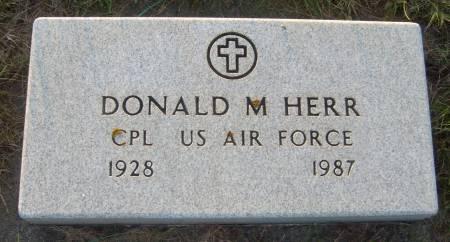 HERR, DONALD M. - Cherokee County, Iowa | DONALD M. HERR