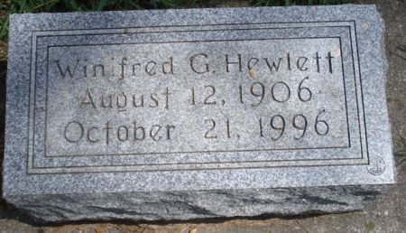 HEWLETT, WINIFRED G. - Cherokee County, Iowa | WINIFRED G. HEWLETT