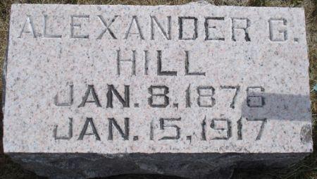 HILL, ALEXANDER G. - Cherokee County, Iowa | ALEXANDER G. HILL