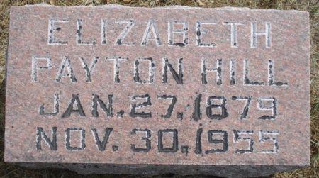 HILL, ELIZABETH - Cherokee County, Iowa | ELIZABETH HILL