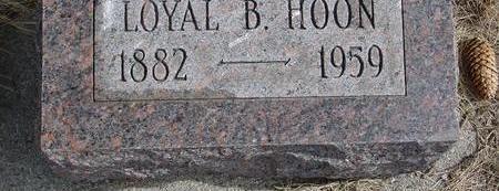 HOON, LOYAL B. - Cherokee County, Iowa | LOYAL B. HOON