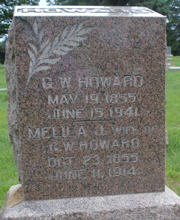 HOWARD, G.W. - Cherokee County, Iowa | G.W. HOWARD