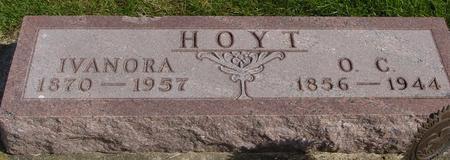 HOYT, O. C. & IVANORA - Cherokee County, Iowa | O. C. & IVANORA HOYT