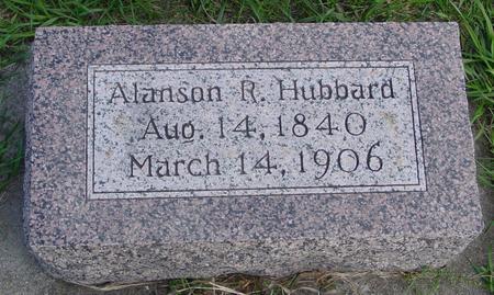 HUBBARD, ALANSON R. - Cherokee County, Iowa   ALANSON R. HUBBARD
