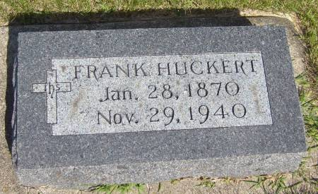 HUCKERT, FRANK - Cherokee County, Iowa   FRANK HUCKERT