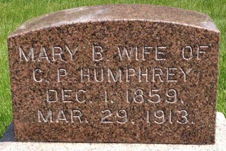HUMPHREY, MARY B. - Cherokee County, Iowa | MARY B. HUMPHREY