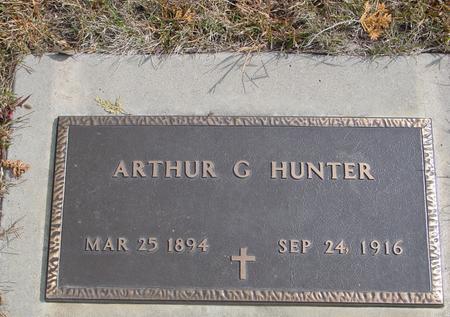 HUNTER, ARTHUR G. - Cherokee County, Iowa   ARTHUR G. HUNTER