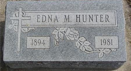 HUNTER, EDNA M. - Cherokee County, Iowa | EDNA M. HUNTER